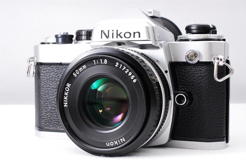★超希少美品・ワンオーナー品★Nikon ニコン FE NIKKOR 50mm F1.8 レンズセット 動作確認済み ニコンコレクター必見です!_画像2