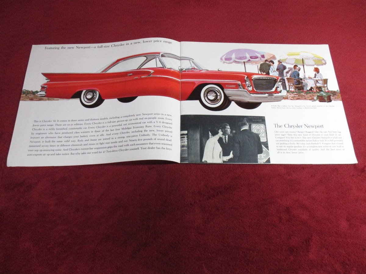 ▲ FIAT CHRYSLER 1961 昭和36 大判 カタログ ▲_画像2