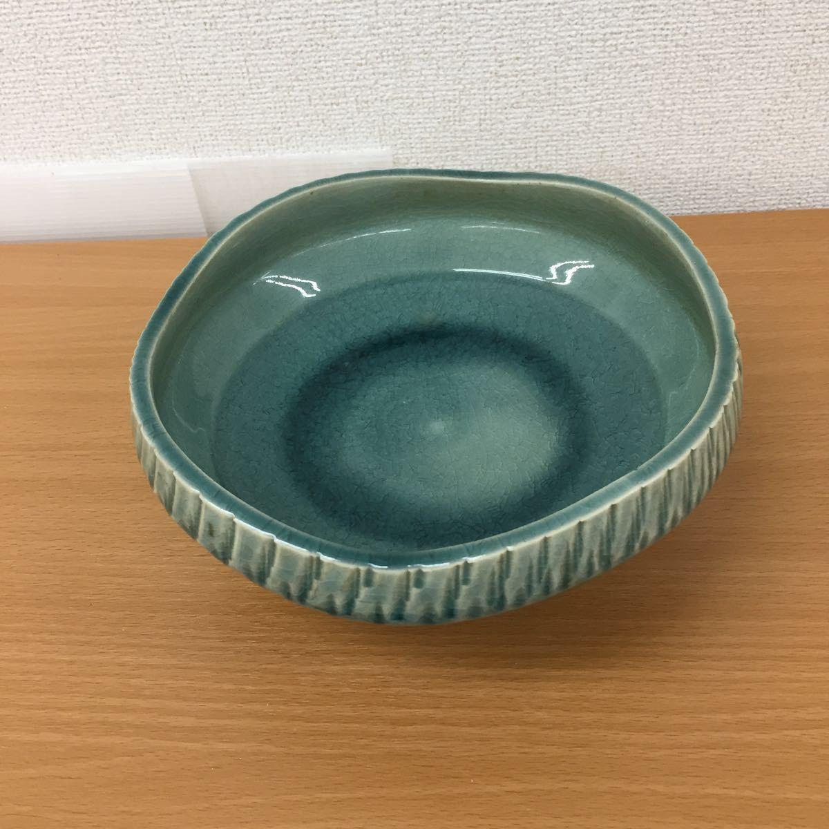 MK0227】中古品 陶器 花器 生花 盆栽_画像5
