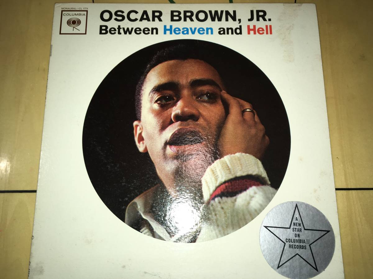LPレコード/プロモ盤/US盤/CL1774●オスカーブラウンジュニアOscar Brown Jr. / Between Heaven And Hell_画像1