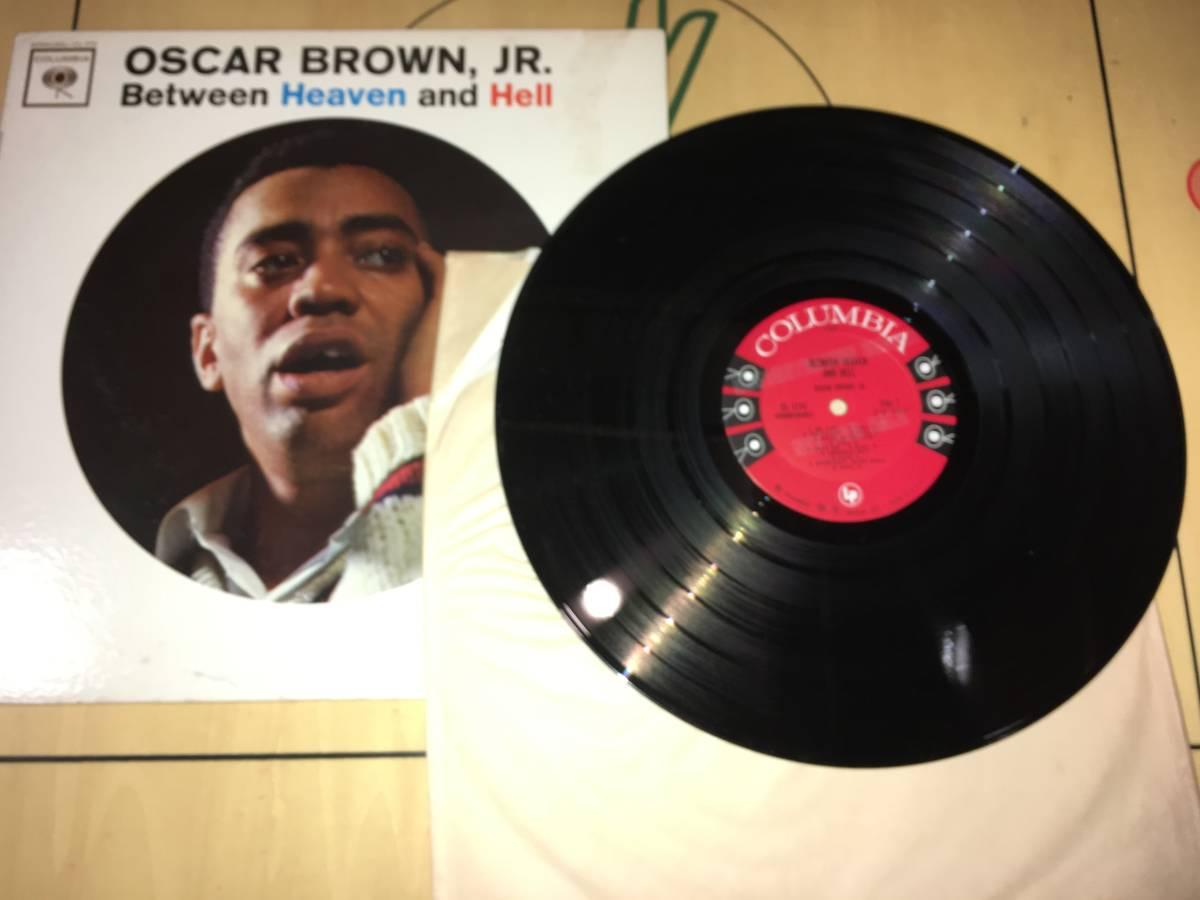 LPレコード/プロモ盤/US盤/CL1774●オスカーブラウンジュニアOscar Brown Jr. / Between Heaven And Hell_画像3