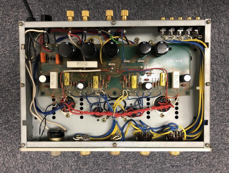 【人気商品】 TOKYO SOUND 真空管 プリメインアンプ Valve100 東京サウンド 6L6 真空管アンプ_画像5