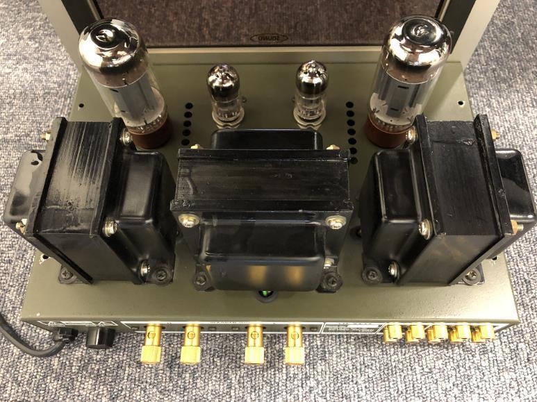 【人気商品】 TOKYO SOUND 真空管 プリメインアンプ Valve100 東京サウンド 6L6 真空管アンプ_画像3