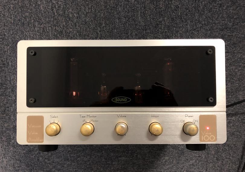 【人気商品】 TOKYO SOUND 真空管 プリメインアンプ Valve100 東京サウンド 6L6 真空管アンプ