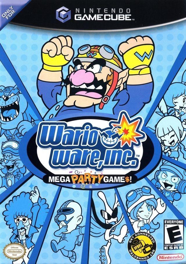 海外限定版 海外版 ゲームキューブ あつまれ!!メイド イン ワリオ Wario Ware Mega Party Games_画像1