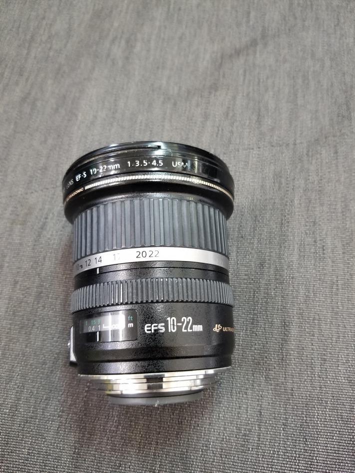 佳能佳能EF-S 10-22毫米F 3.5-4.5 USM垃圾 編號:w272254020