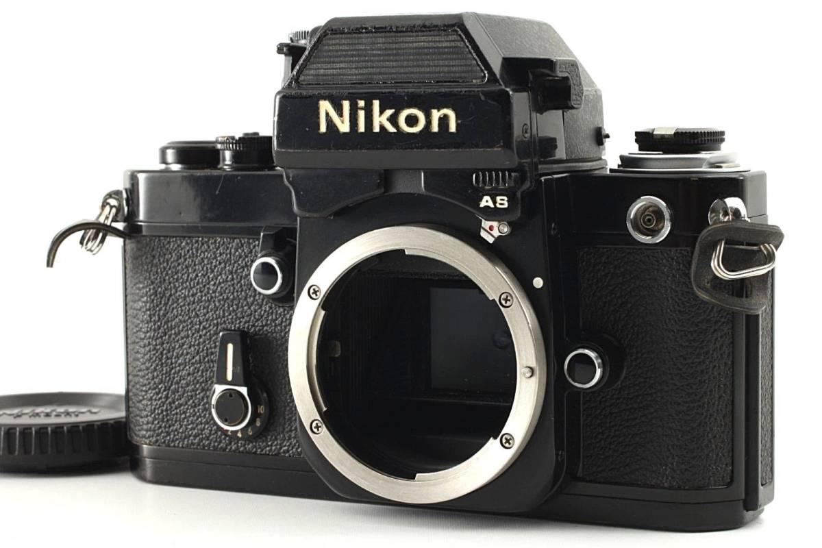 ★極上美品★ Nikon ニコン F2 Photomic フォトミック AS Black 35mm F2AS SLR Camera