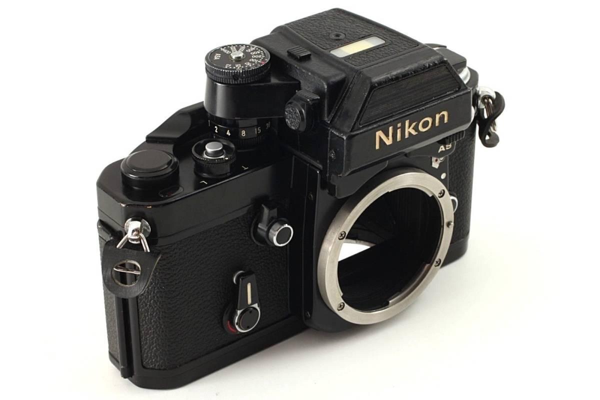 ★極上美品★ Nikon ニコン F2 Photomic フォトミック AS Black 35mm F2AS SLR Camera_画像3
