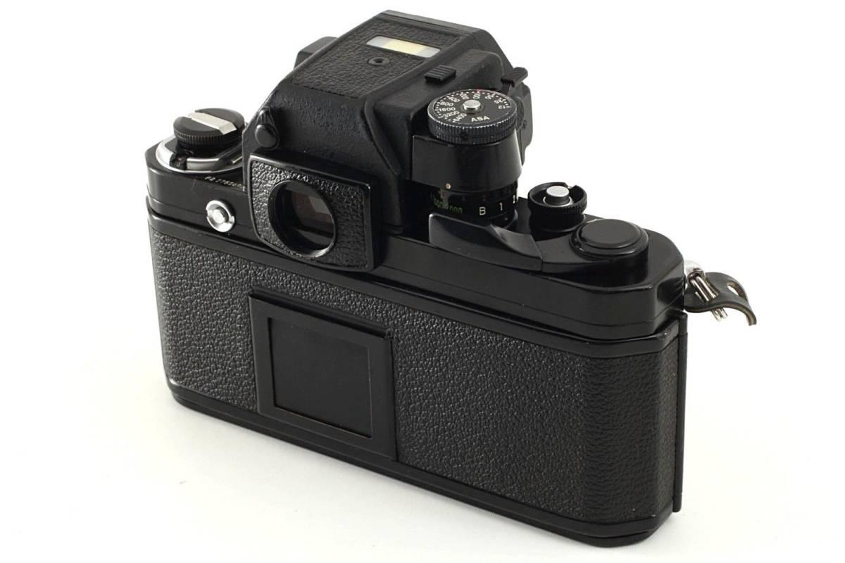 ★極上美品★ Nikon ニコン F2 Photomic フォトミック AS Black 35mm F2AS SLR Camera_画像4