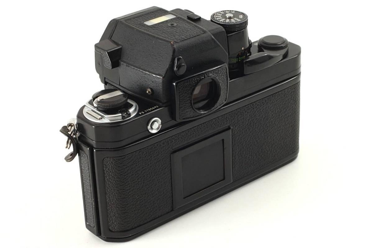 ★極上美品★ Nikon ニコン F2 Photomic フォトミック AS Black 35mm F2AS SLR Camera_画像5