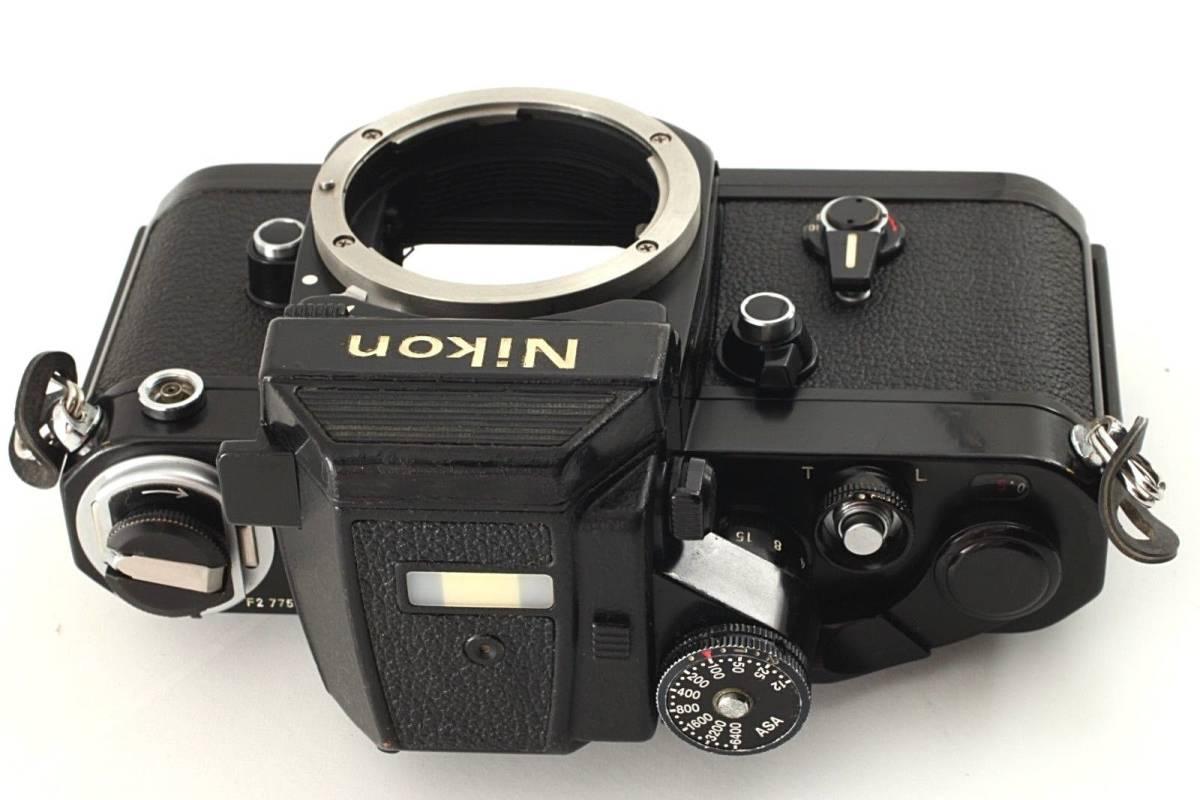 ★極上美品★ Nikon ニコン F2 Photomic フォトミック AS Black 35mm F2AS SLR Camera_画像8