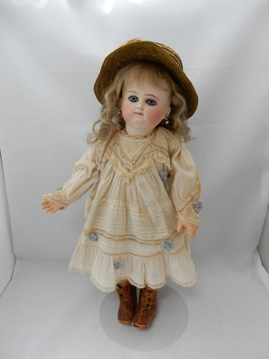 SCM★ビスクドール 抱き人形 着せ替え人形~全長 約42㎝