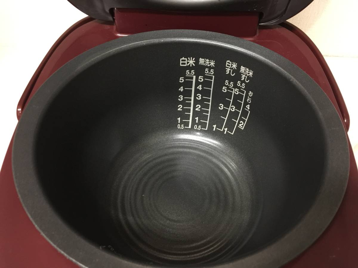 東芝 真空IHジャー炊飯器 RC-10VRK 2016年製_画像7