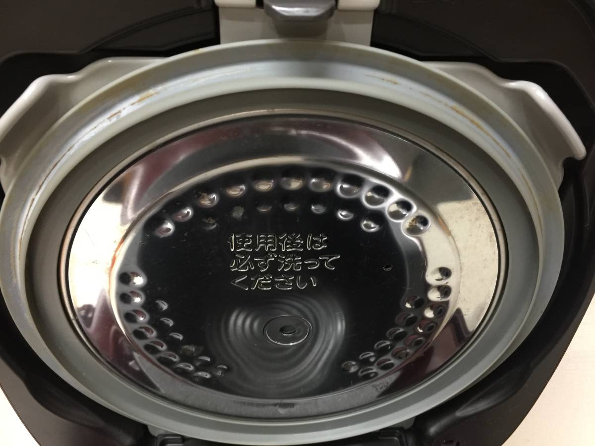 東芝 真空IHジャー炊飯器 RC-10VRK 2016年製_画像8