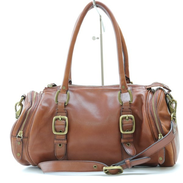 c51a13fa8d3c 代購代標第一品牌- 樂淘letao - O9 コールハーンCOLEHAAN レザー製ショルダーバッグトート茶保存袋