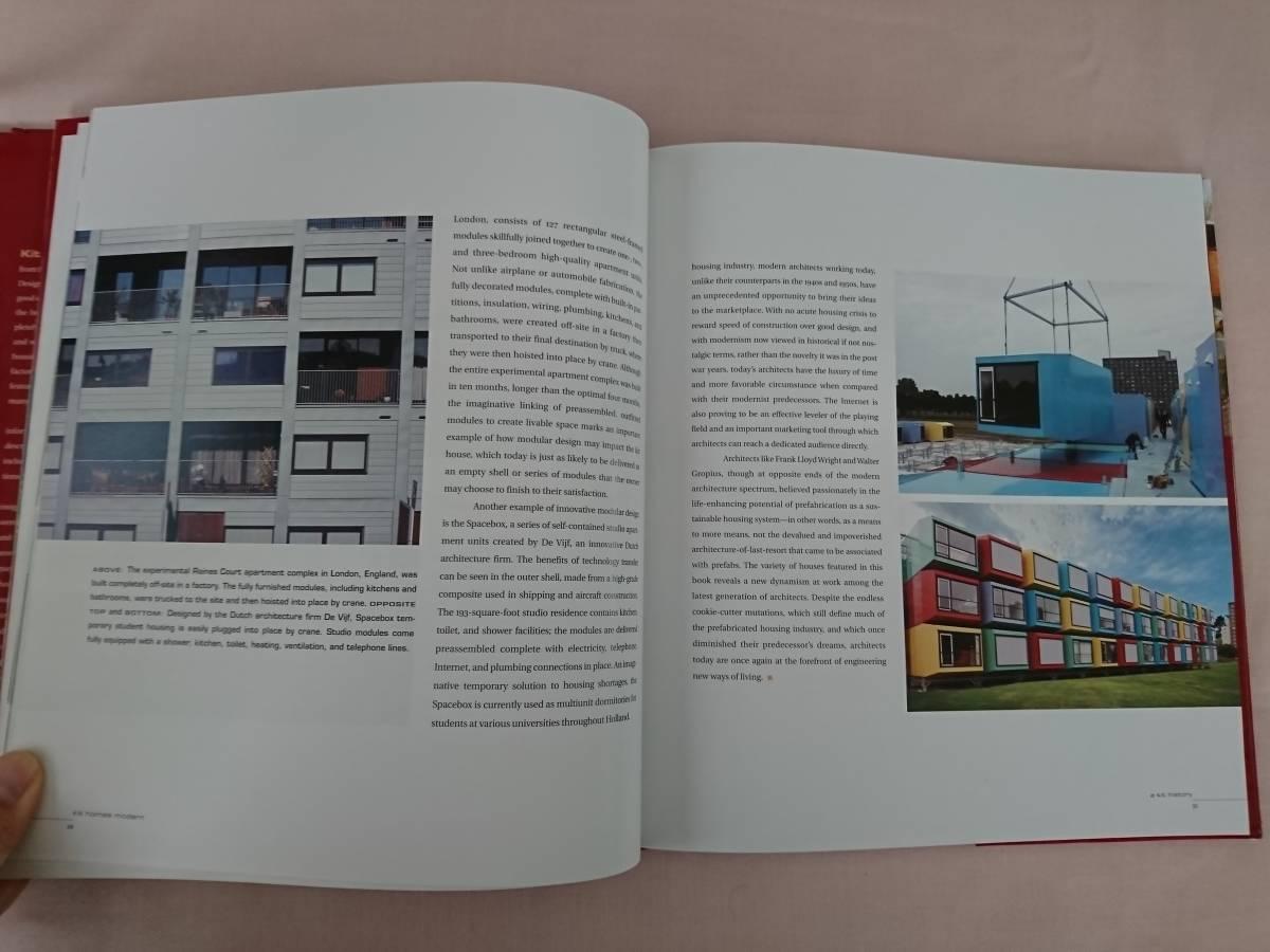 Kit Homes Modern Ima Ebong 洋書 建築 ログハウス 写真集 家 洋風建築 住宅 _画像2