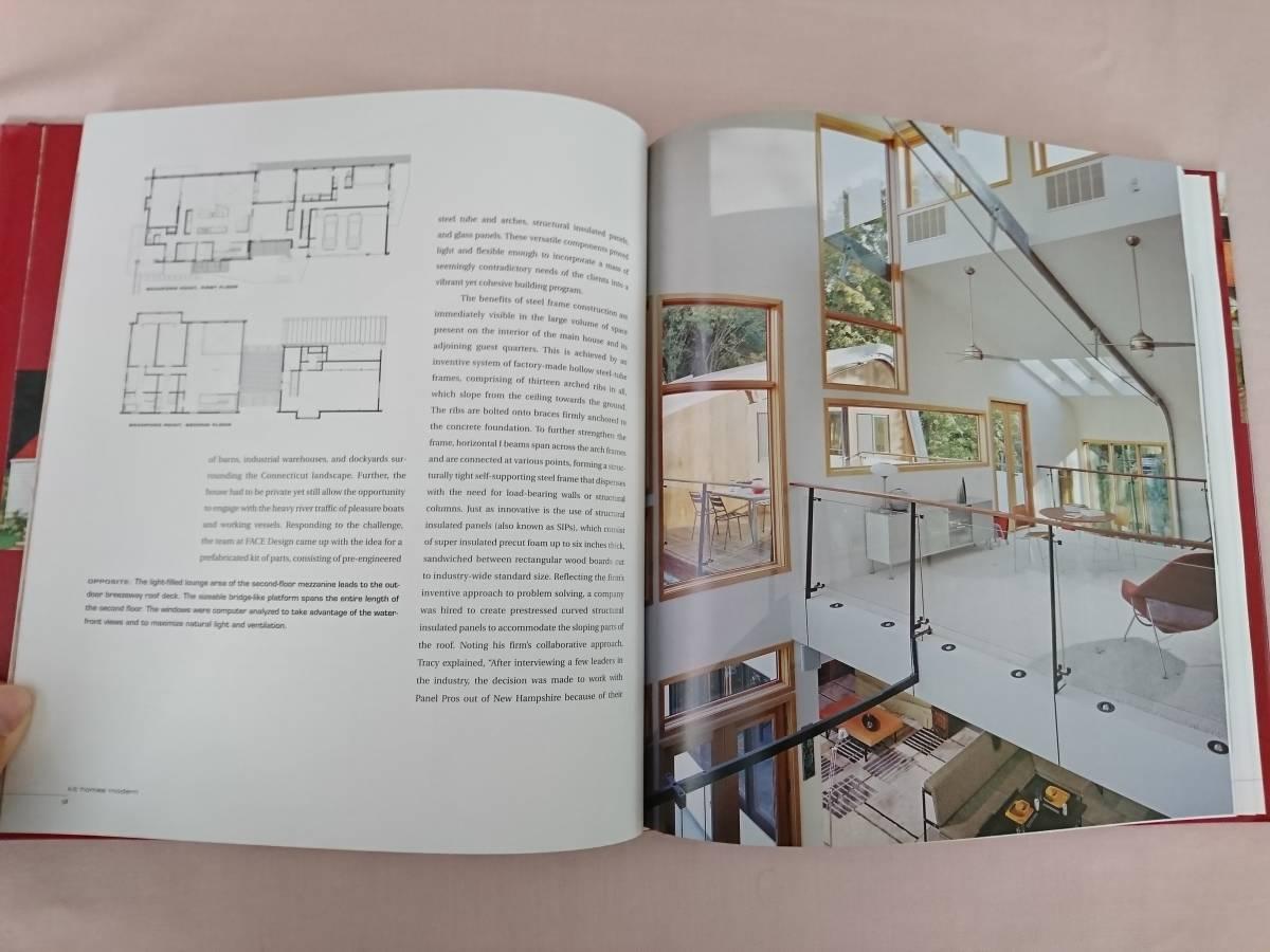 Kit Homes Modern Ima Ebong 洋書 建築 ログハウス 写真集 家 洋風建築 住宅 _画像3