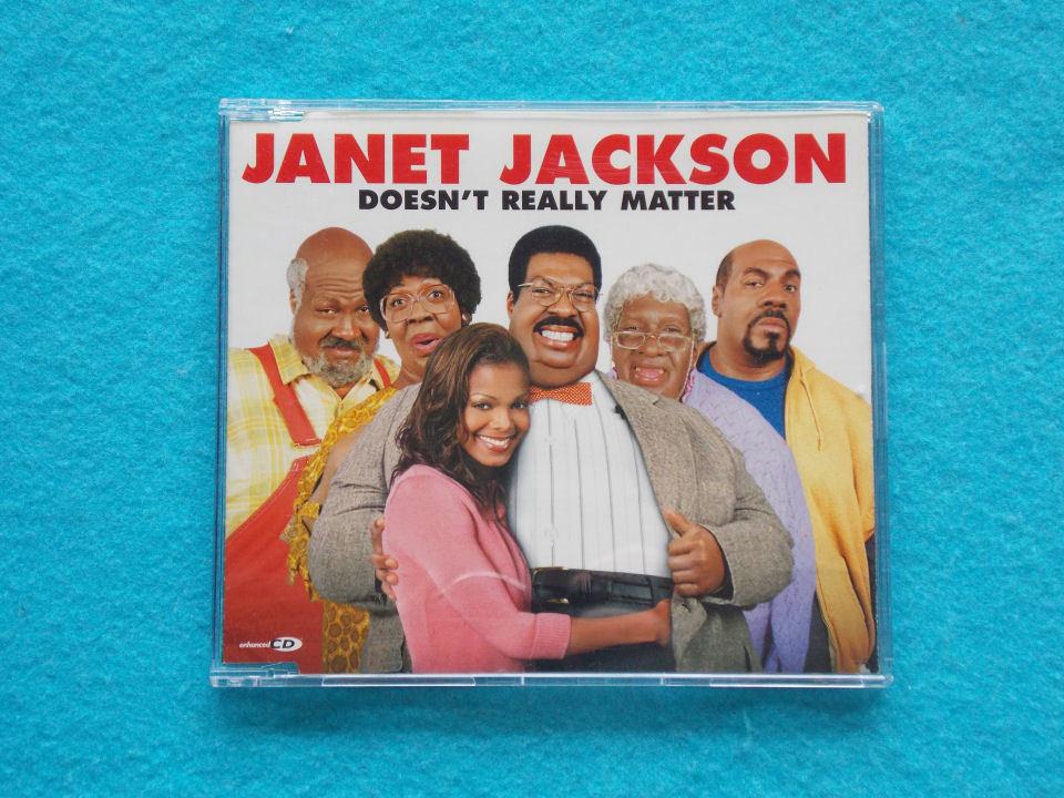 CD/Janet Jackson/Doesn't Really Matter/ジャネット・ジャクソン/ダズント・リアリー・マター_画像1