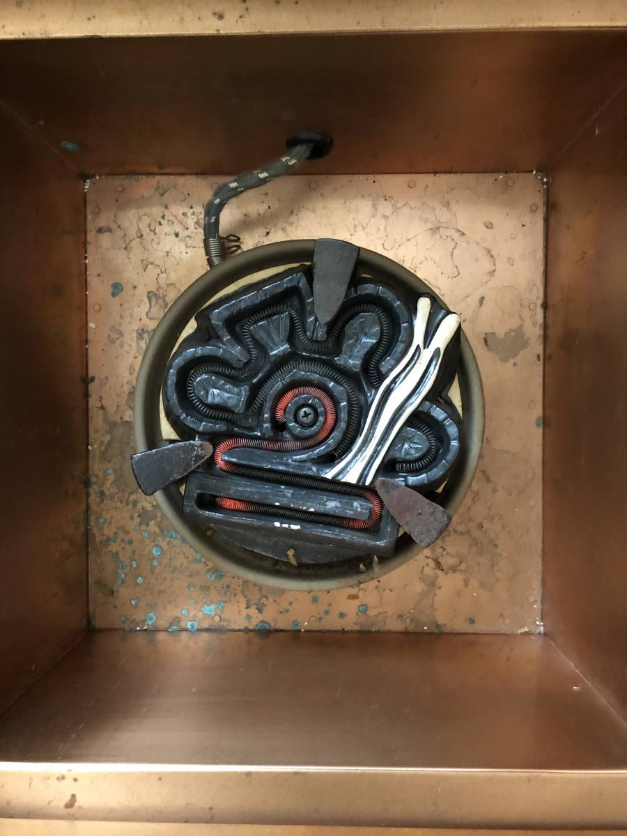 ■放置家具爐電熱爐邊緣Tokutoko木炭茶儀式茶道操作檢查■ 編號:n302217853