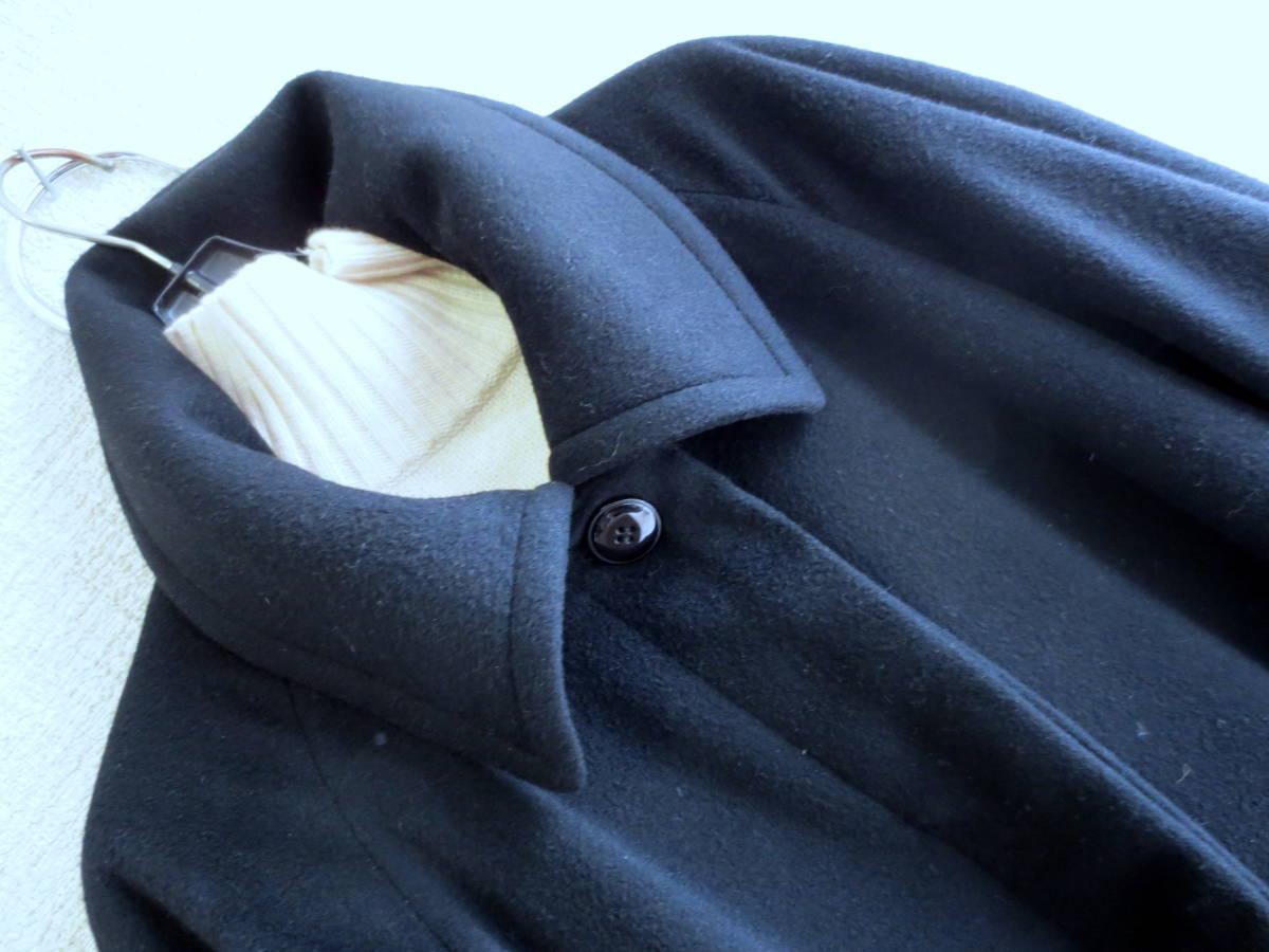 意大利製造Roropiana羊絨100%染色大衣黑色Lerien Colombo 編號:x578063380