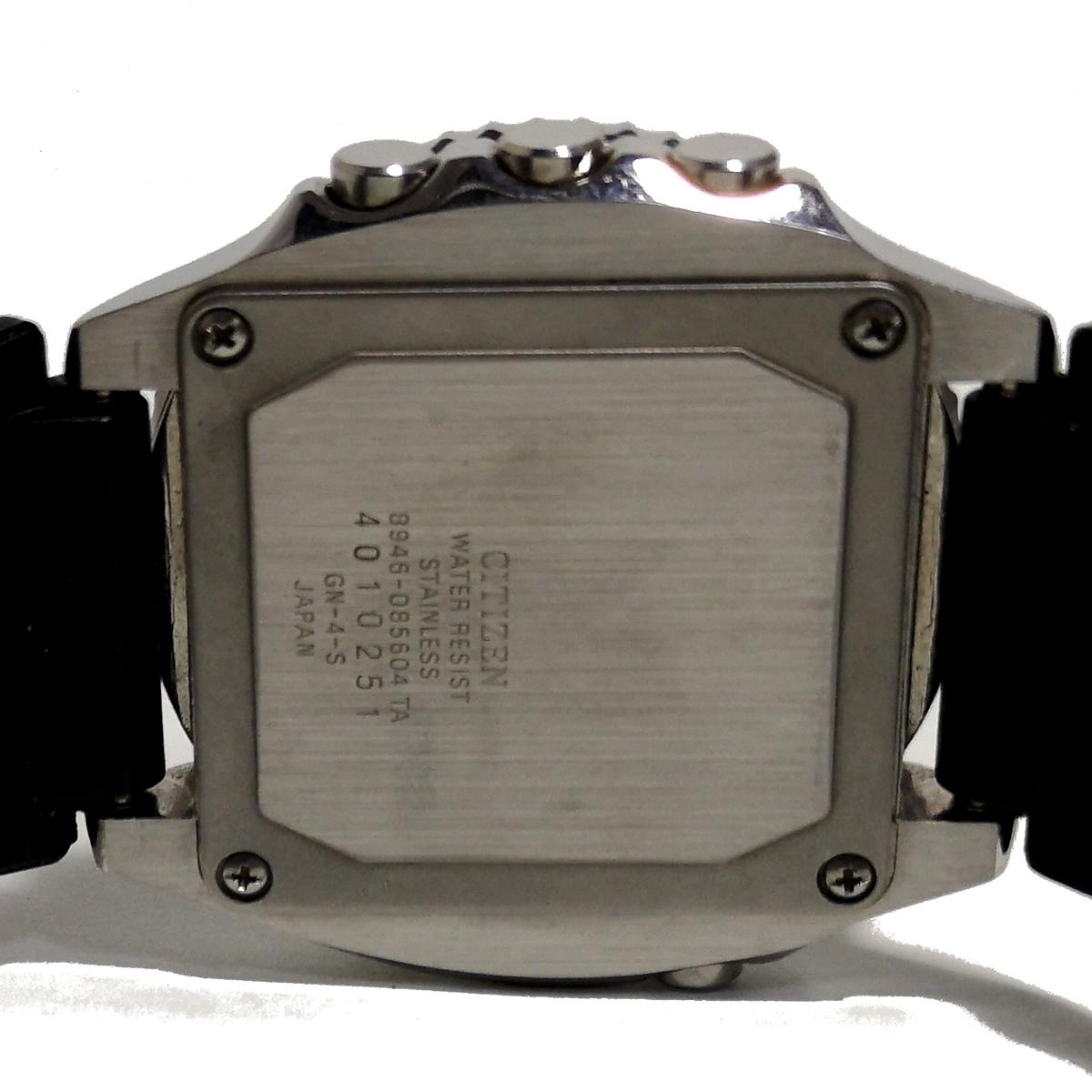 極希少 1円スタート シチズン アラームクロノグラフ CITIZEN ALARM CHRONOGRAPH【アナログ×デジタル】8945-085604 ダイバー? メンズ腕時計_画像8