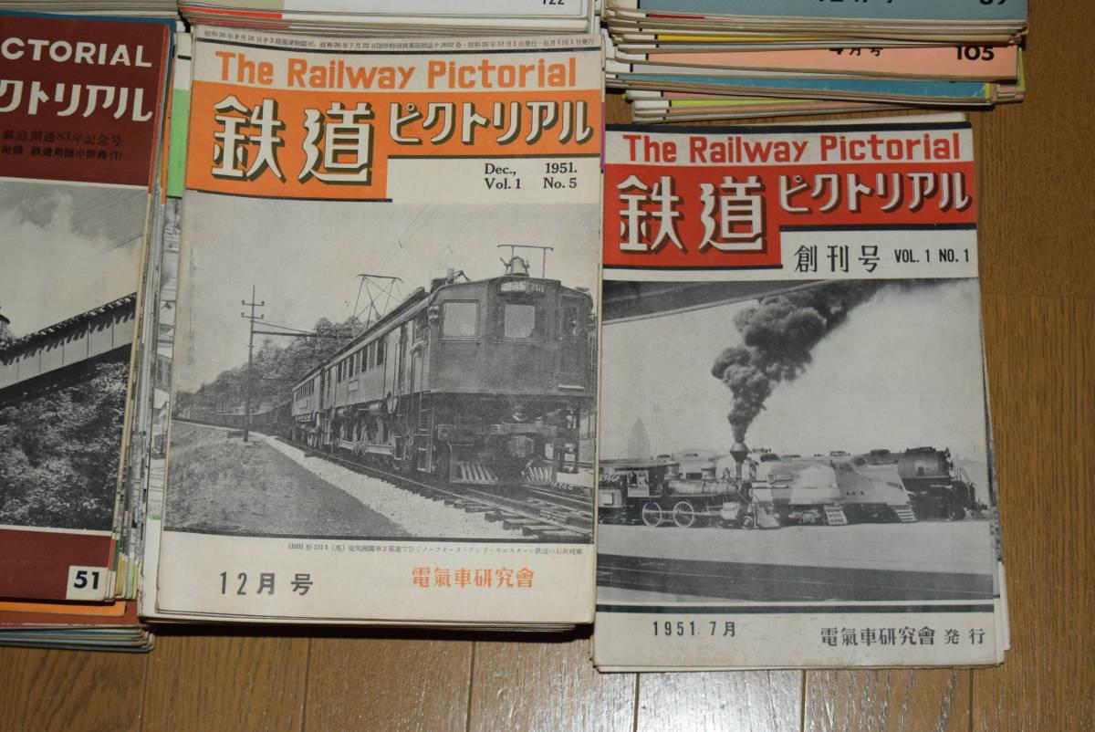 ●値下げ●鉄道ピクトリアル。創刊号より184号まで。177冊。_画像2