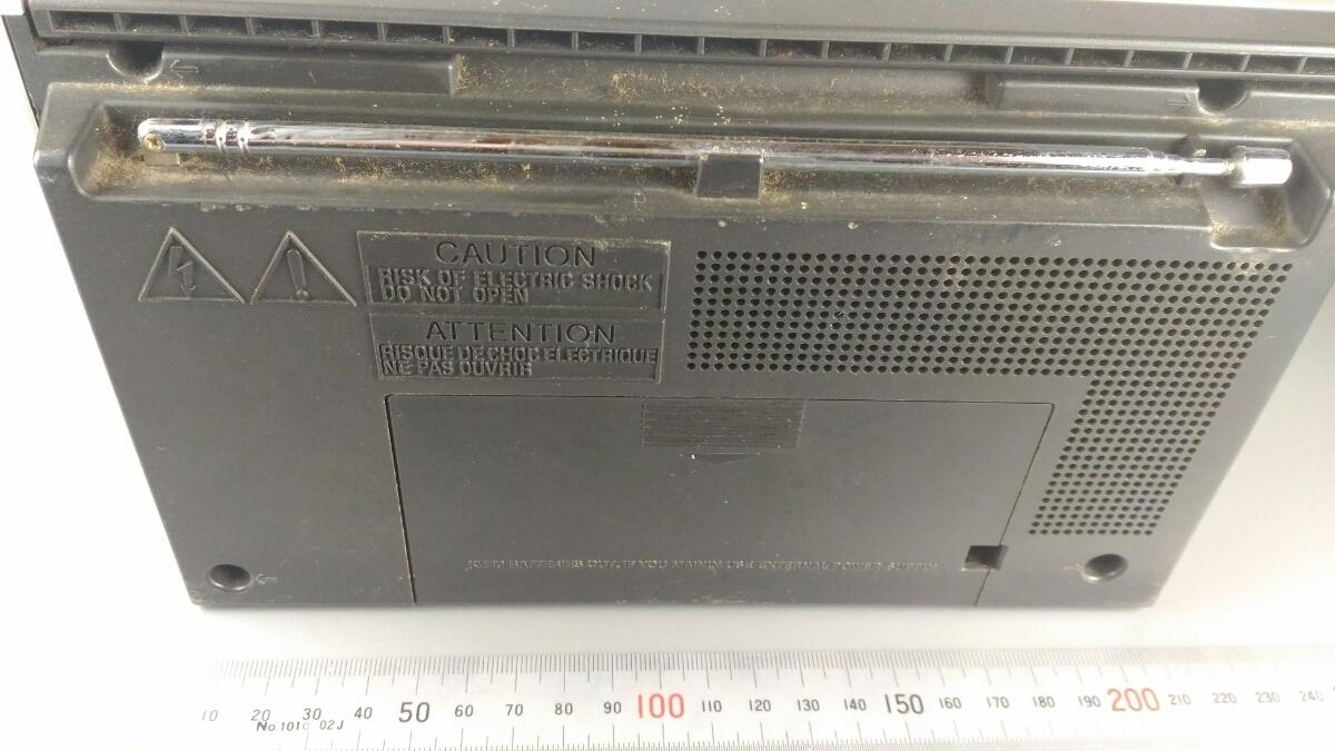 SONY ラジオ ICF710 昭和レトロ インテリア ソニー radio 売り切り お得◇古道具06_画像2