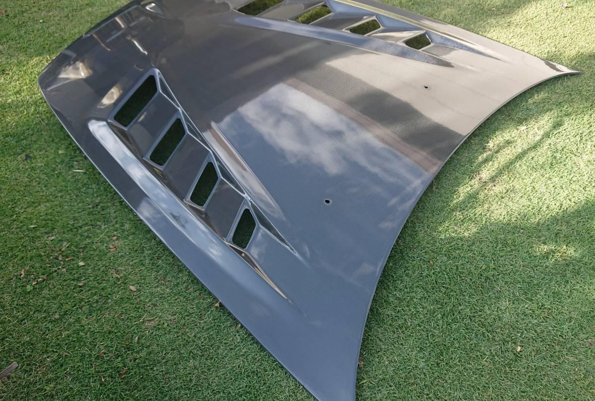 【美品】S2000 トヨシマクラフト カーボンボンネット カーボン ボンネット AP1 AP2 f20c f22c s2 前期 後期 走行距離少ない _画像3