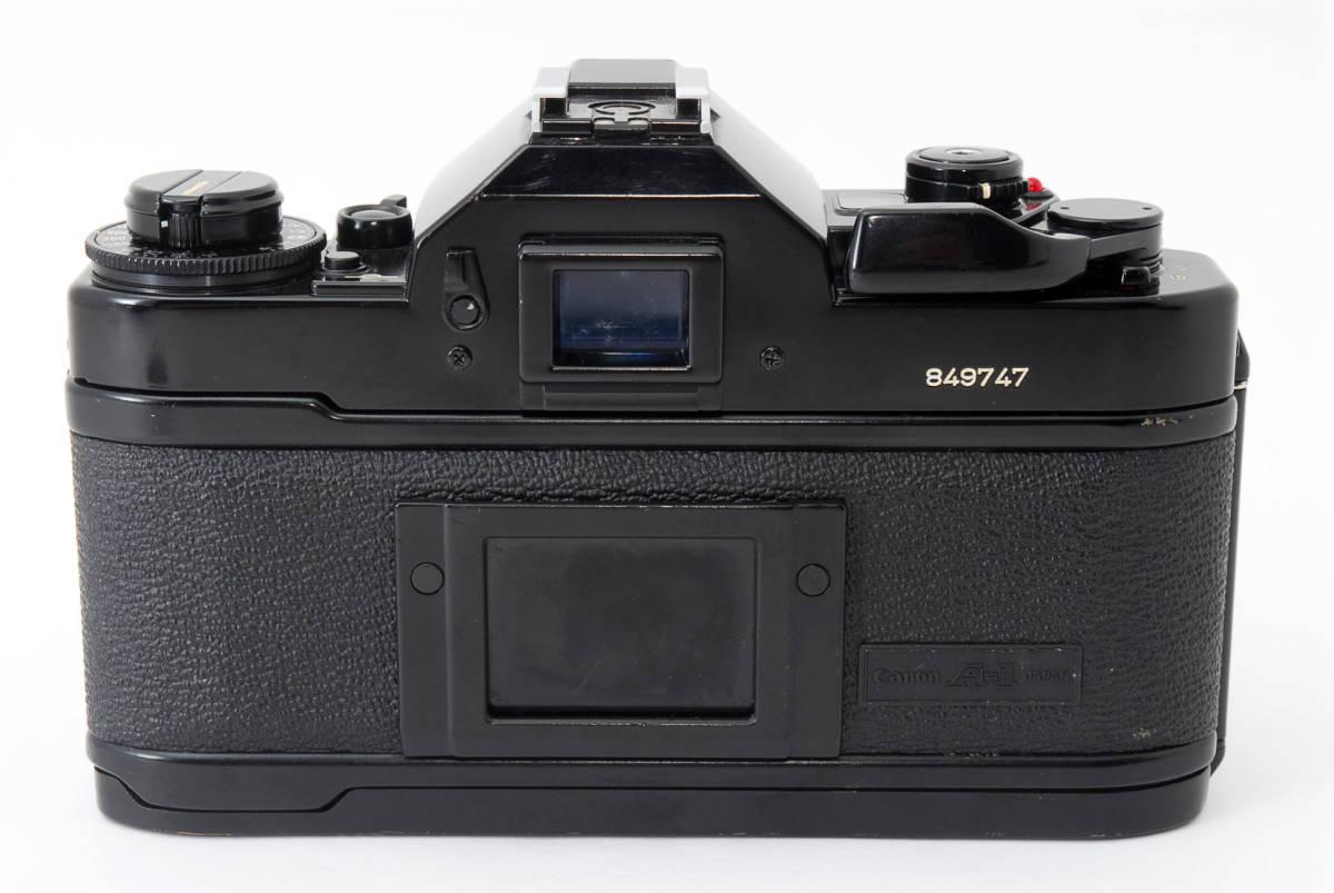 ★外観美品★ キャノン A-1 body ボディ (Canon FD 50mm F1.8) レンズセット #2634_画像4