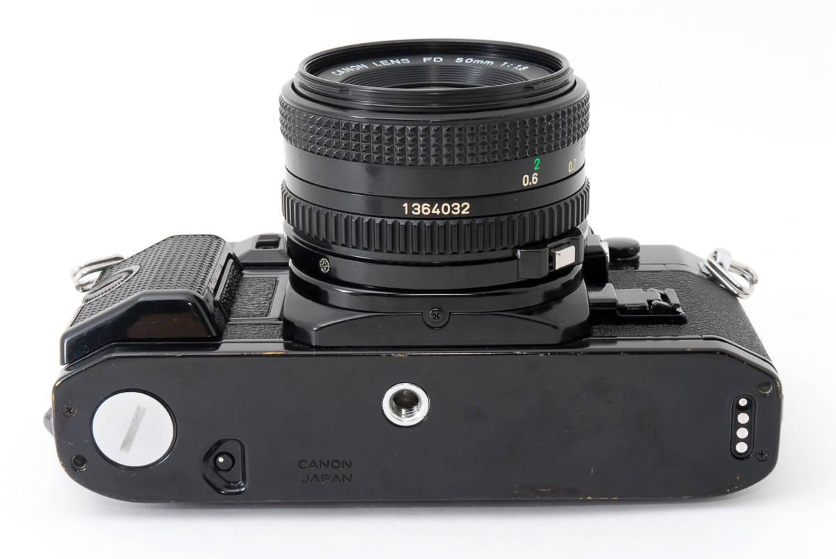 ★外観美品★ キャノン A-1 body ボディ (Canon FD 50mm F1.8) レンズセット #2634_画像6