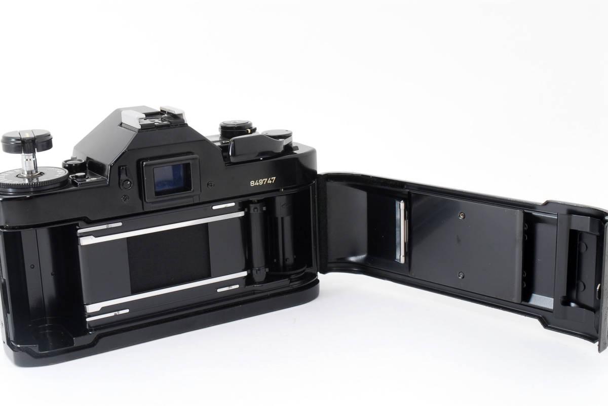 ★外観美品★ キャノン A-1 body ボディ (Canon FD 50mm F1.8) レンズセット #2634_画像7