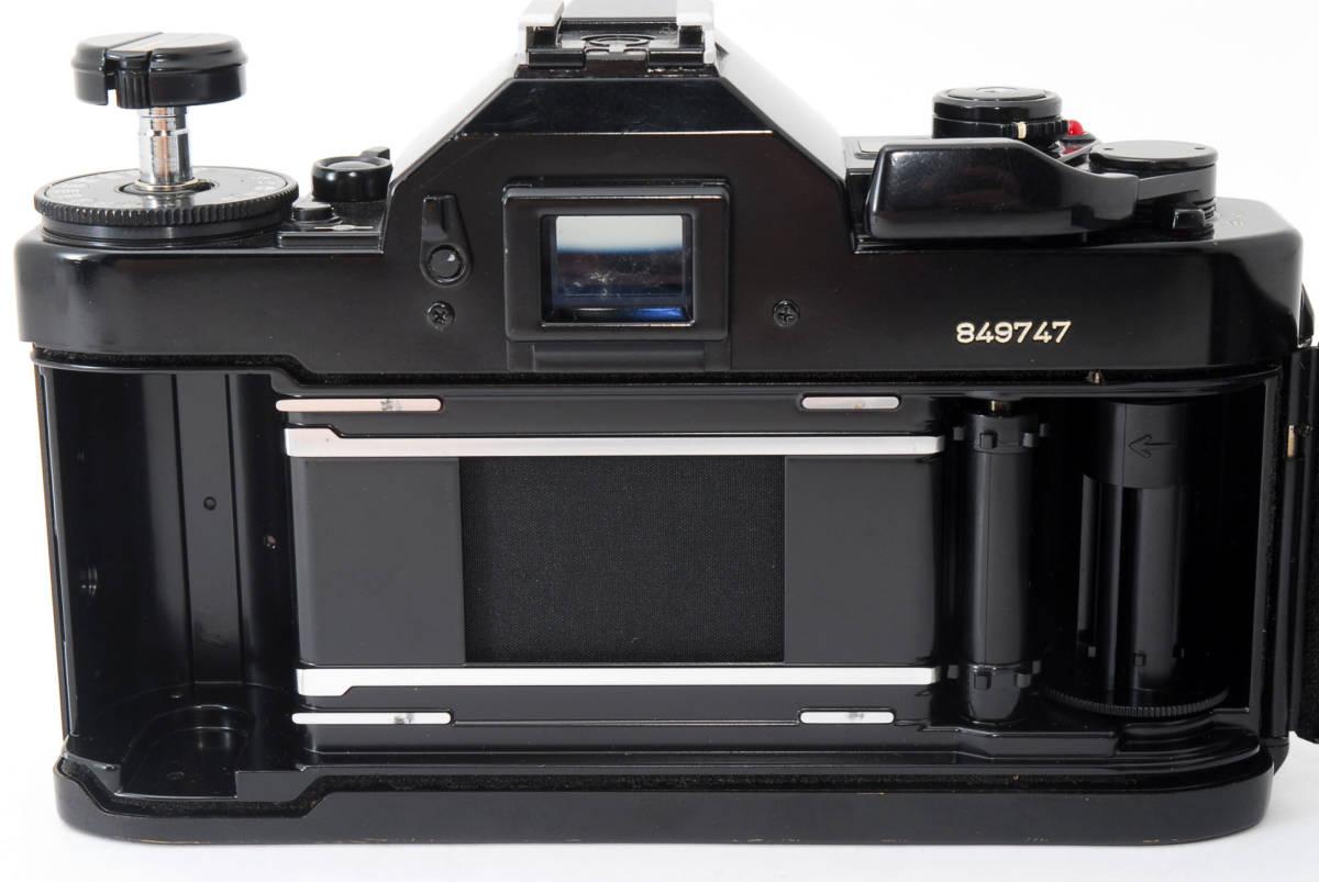 ★外観美品★ キャノン A-1 body ボディ (Canon FD 50mm F1.8) レンズセット #2634_画像8