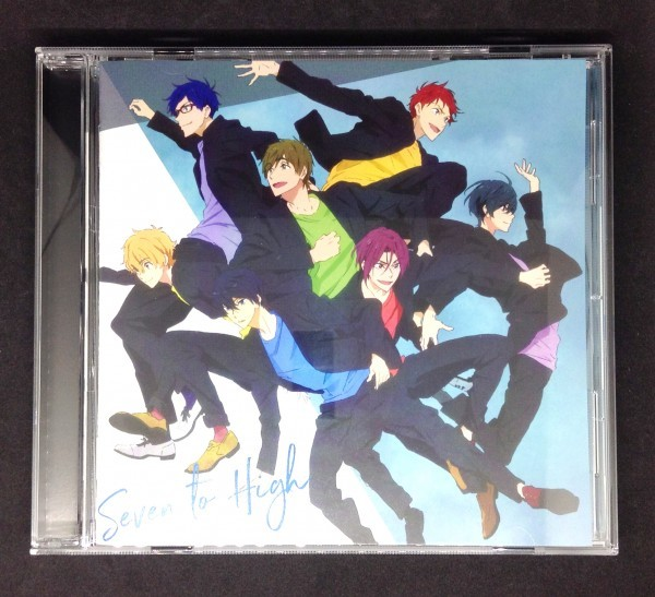 Free! -Dive to the Future- キャラクターソングCD「Seven To High」 七瀬遙 橘真琴 松岡凛 葉月渚 竜ヶ崎怜 桐嶋郁弥 椎名旭_画像1
