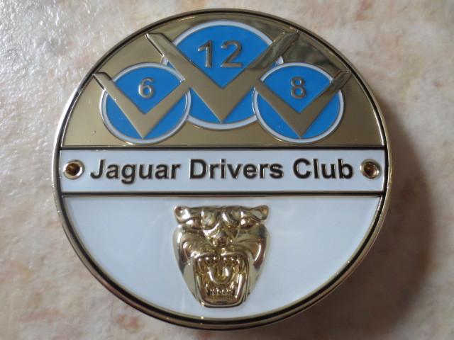 英国製ジャガードライバーズクラブバッジ・新品&未使用品★JAGUAR・XJ・XF・XE・F-PACE・CDEFタイプ・007ボンドカー・ディムラー・英国車_細部まで造り込まれた素晴らしいバッジです