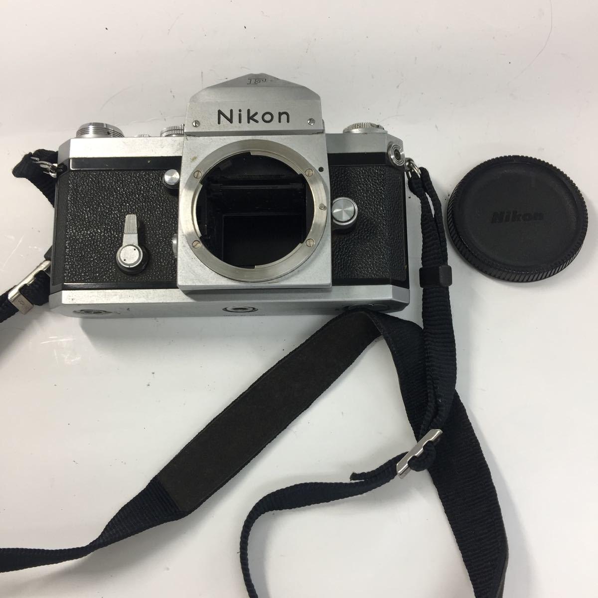 返品不可 Nikon ニコン F フィルムカメラ ボディ ジャンク品#19329