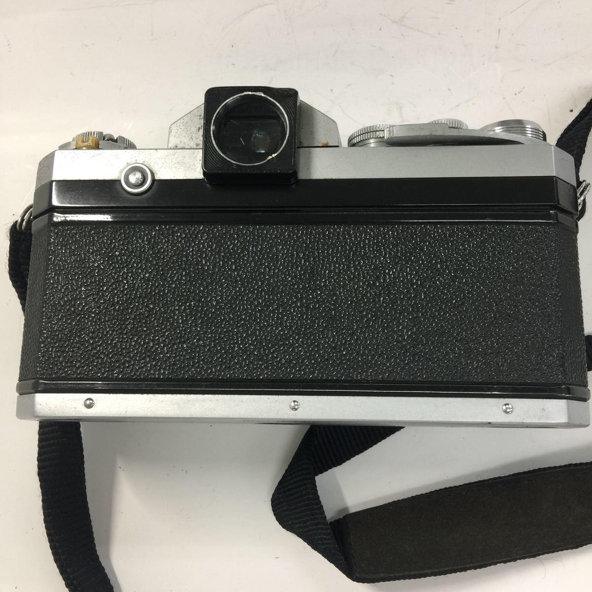 返品不可 Nikon ニコン F フィルムカメラ ボディ ジャンク品#19329_画像4