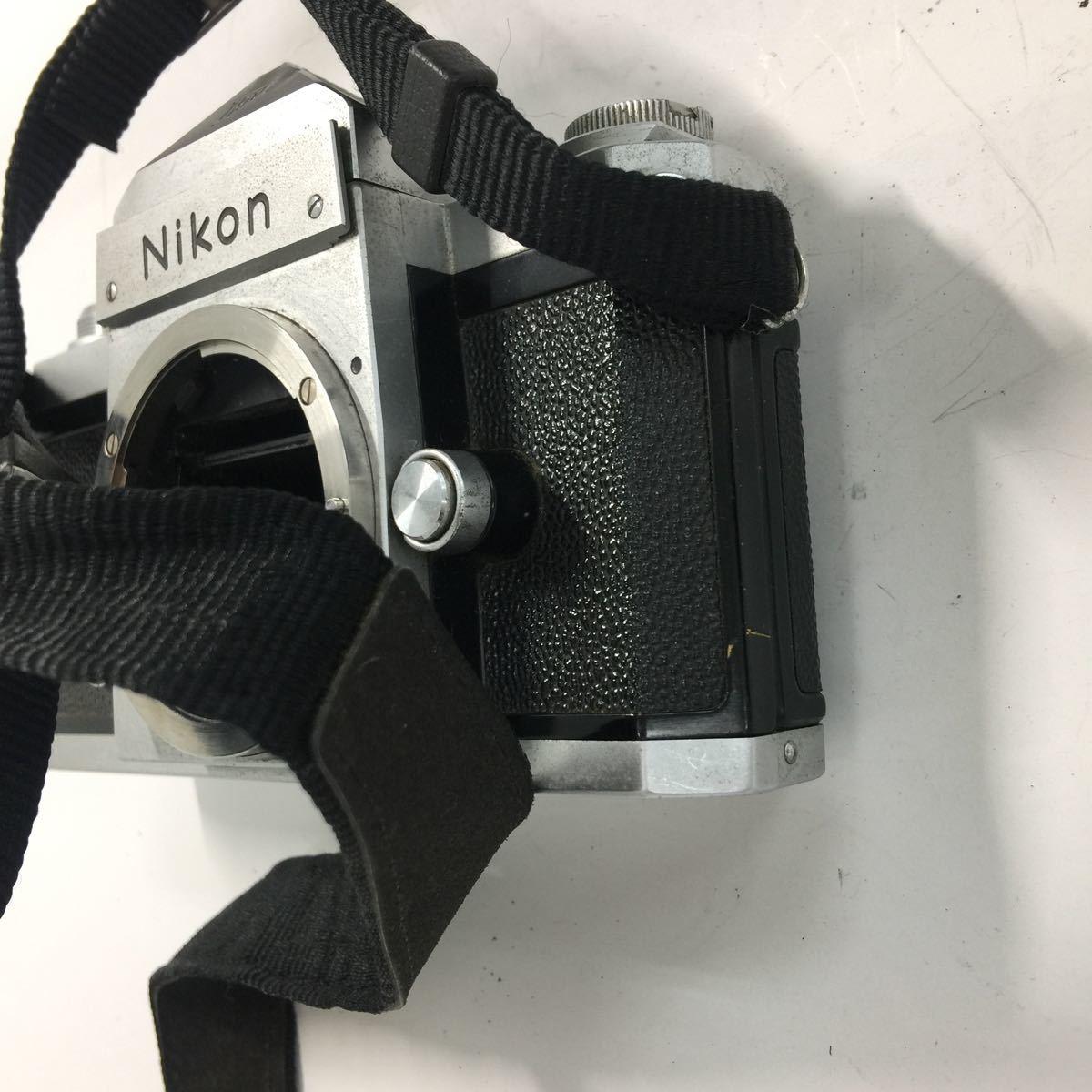 返品不可 Nikon ニコン F フィルムカメラ ボディ ジャンク品#19329_画像7