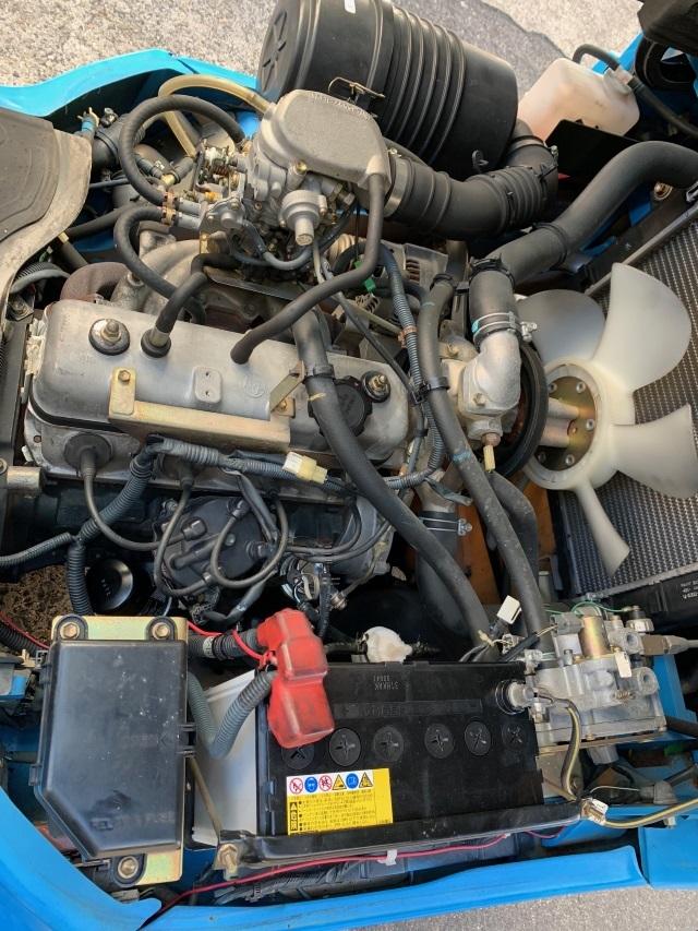 トヨタ 中古フォークリフト ガソリン 全回転 ロールクランプ 1t _画像9