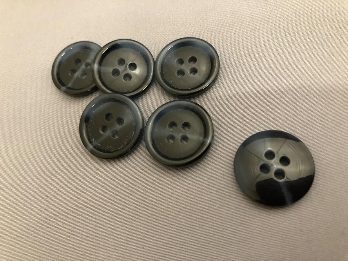 サスペンダーボタンx6 サスペンダー メンズ 紳士 ボタン留め ブレイシーズ ブレイス BraceButton ブレイスボタン Eloise Navy B654_b654