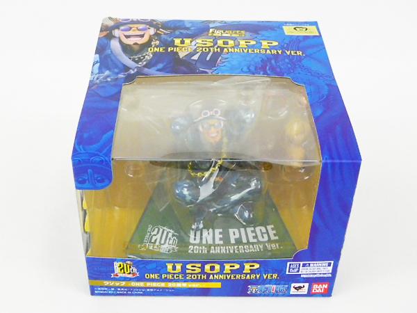 ♪【未開封】Figuarts Zero One Piece烏索普ONE PIECE 20週年紀念版Soul Web / Bandai 編號:f306983603