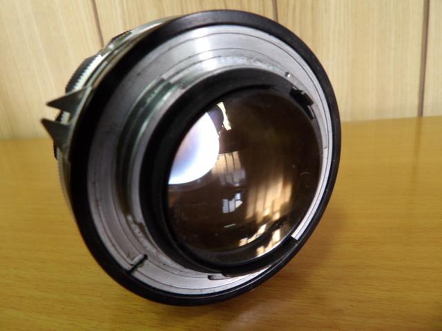 ジャンク扱い Nikon F ボディ レンズ付き NIKKOR-S Auto 1:1.4 f=50mm_画像3