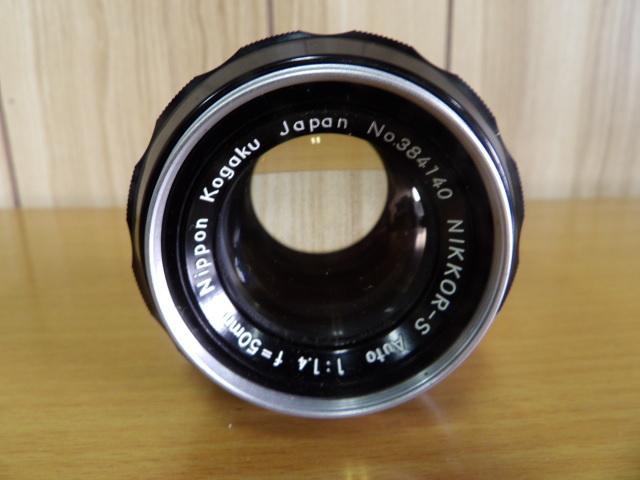 ジャンク扱い Nikon F ボディ レンズ付き NIKKOR-S Auto 1:1.4 f=50mm_画像2