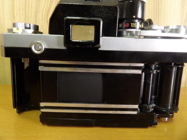 ジャンク扱い Nikon F ボディ レンズ付き NIKKOR-S Auto 1:1.4 f=50mm_画像6
