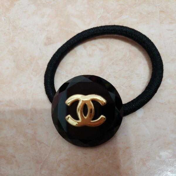 e69d750b18c8 代購代標第一品牌- 樂淘letao - CHANEL シャネルヘアゴム黒ロゴ新品未使用