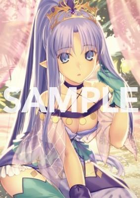 Fate/Grand Order Premium Tapestry vol.3 094 メディア 〔リリィ〕 B2タペストリー こやまひろかず FGO_画像2