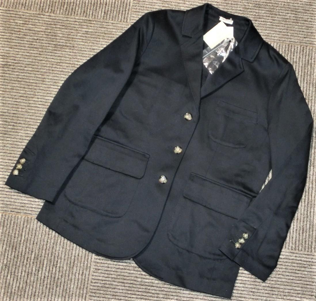 定価73440円 シャルルアナスタスcharles anastase 新品 Sシャルル アナスタス日本製JKTジャケット紺ネイビー_画像1