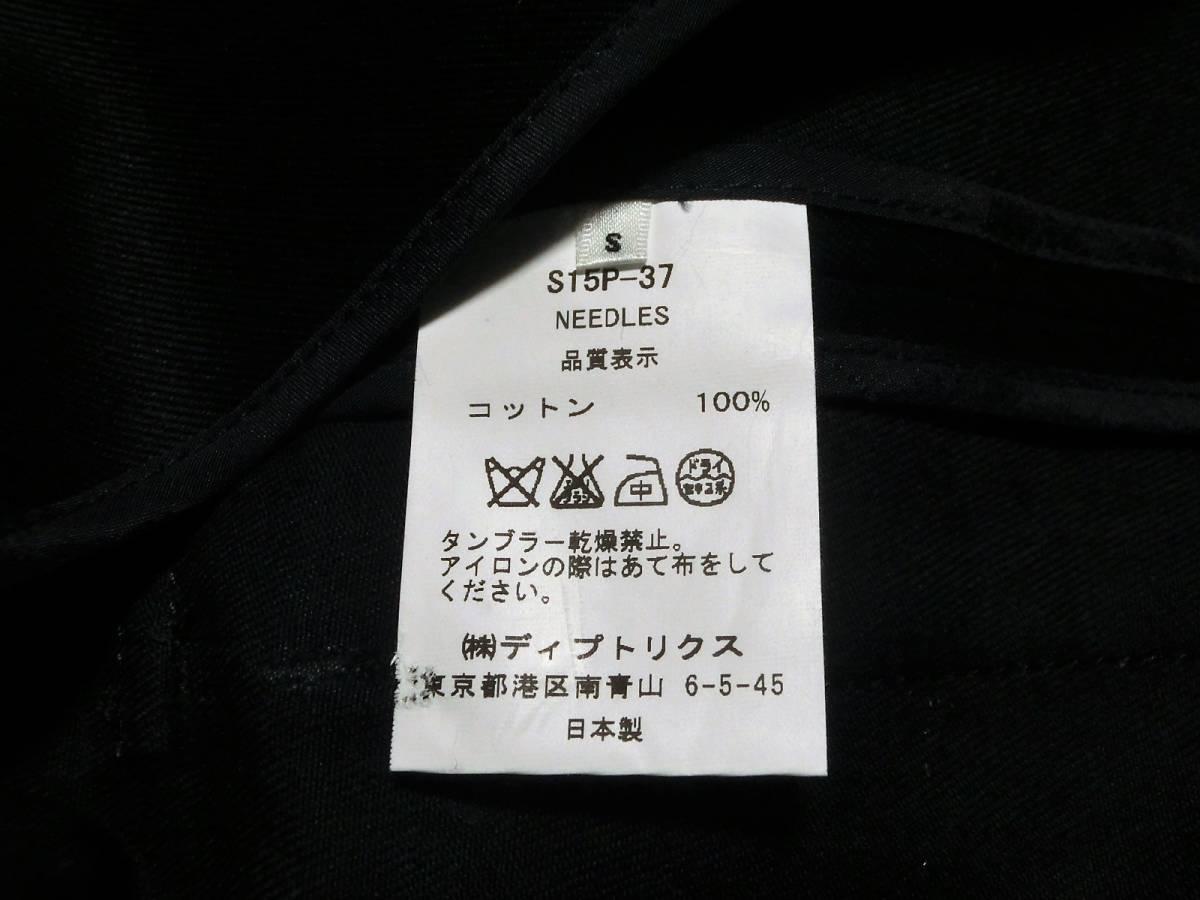 定価73440円 シャルルアナスタスcharles anastase 新品 Sシャルル アナスタス日本製JKTジャケット紺ネイビー_画像4