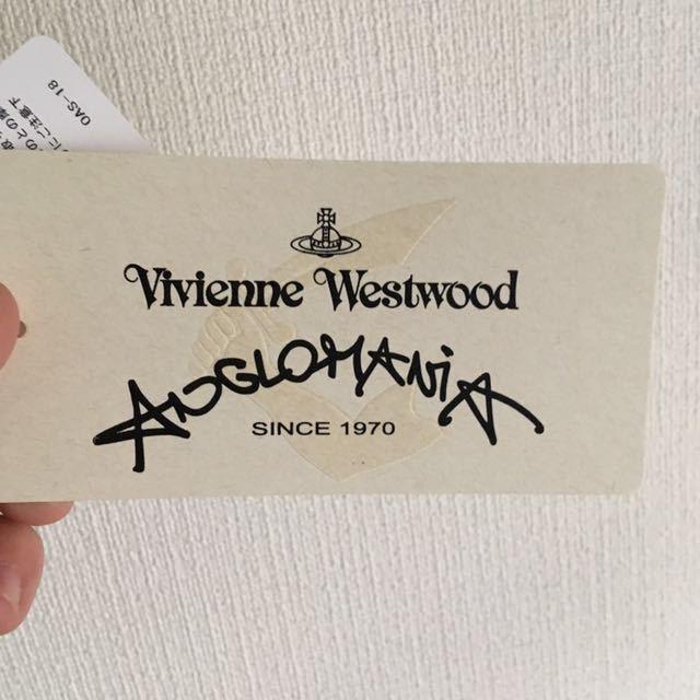 新品未使用 vivienne westwood anglomania フェイスタオル ヴィヴィアンウエストウッド アングロマニア _画像3
