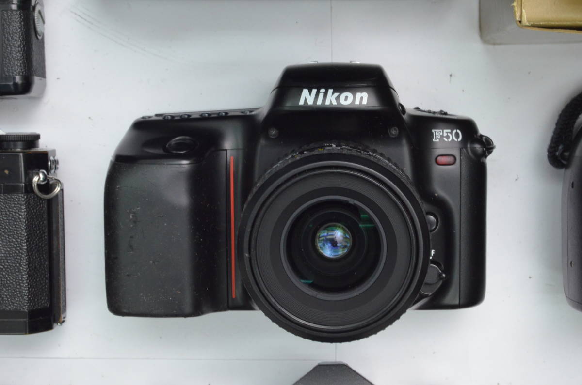 S8 Nikon ニコン AF MF レンズ ボディ モータードライブ 等 まとめて まとめ 大量 セット S101_画像6