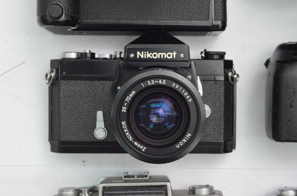 S8 Nikon ニコン AF MF レンズ ボディ モータードライブ 等 まとめて まとめ 大量 セット S101_画像9